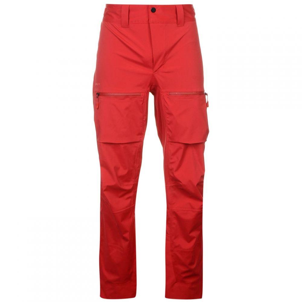 ファウデ Vaude メンズ ランニング・ウォーキング ボトムス・パンツ【Boe Pant Sn61】Red/Indian