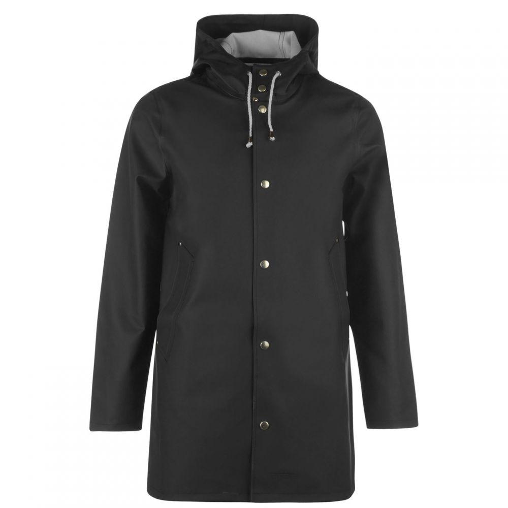 ストゥッテルハイム Stutterheim メンズ レインコート アウター【Stockholm Raincoat】Black