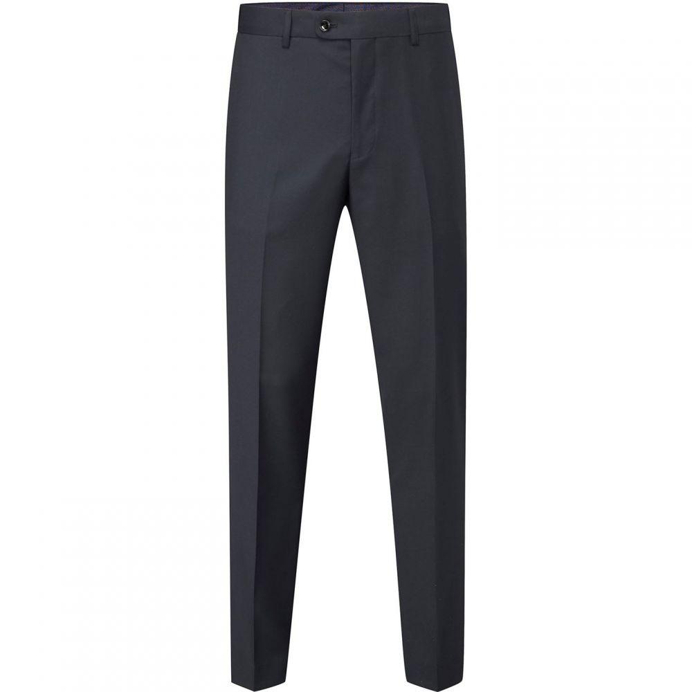 スコープス Skopes メンズ スラックス ボトムス・パンツ【Farnham Commuter Suit Trouser】Navy