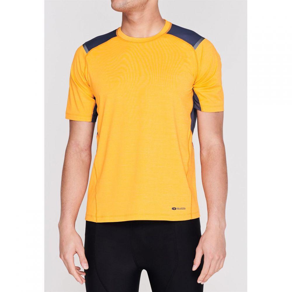 スゴイ Sugoi メンズ 自転車 トップス【Titan Cycling T Shirt】Yellow