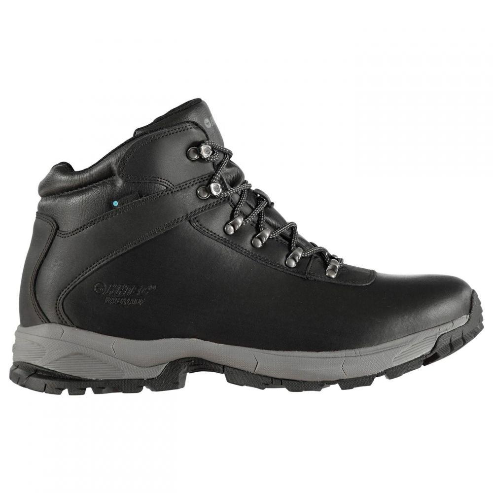 ハイテック Hi Tec メンズ ブーツ シューズ・靴【Tec Eurotrek Lite Waterproof Boots】Black