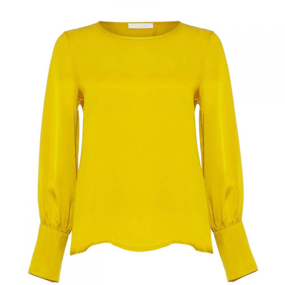 ダンセル Damsel in a Dress レディース ブラウス・シャツ トップス【Sasha Pearl Detail Blouse】Mustard