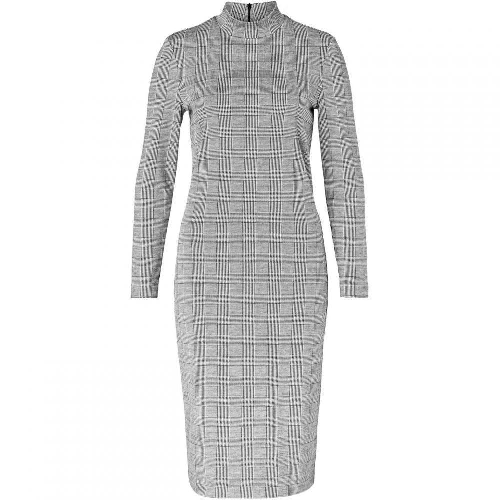 ハルフーバー Hallhuber レディース ワンピース ワンピース・ドレス【Glen Check Jersey Dress】Multi Coloured