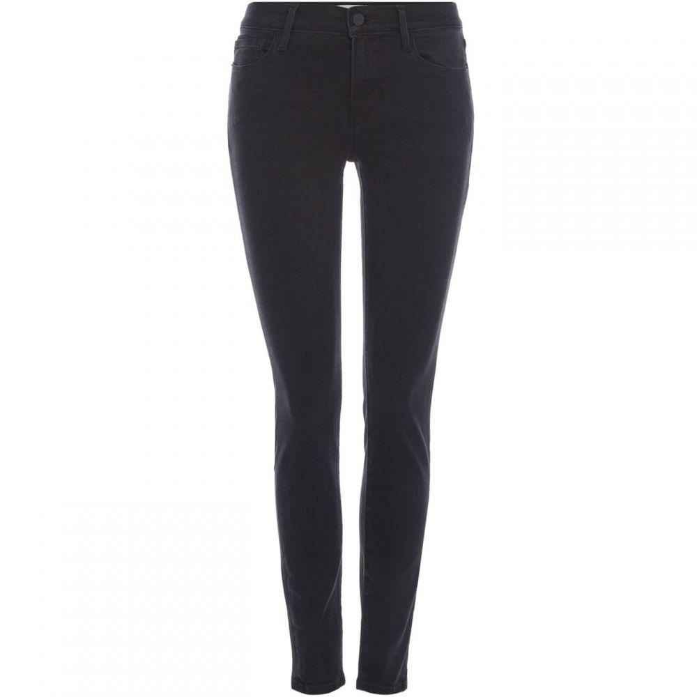 フレーム Frame レディース ジーンズ・デニム ボトムス・パンツ【Le Skinny Jeans in Whittier】Washed Black