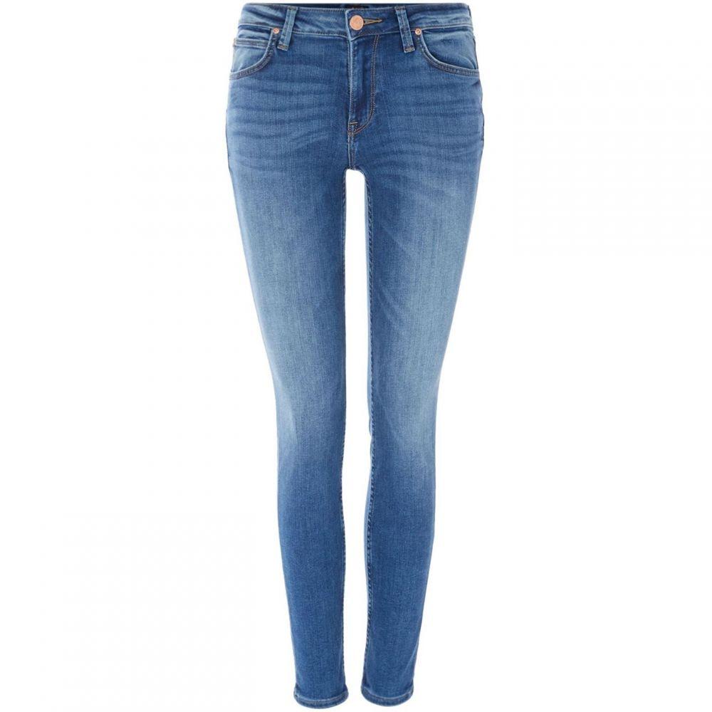 リー Lee Jeans レディース ジーンズ・デニム ボトムス・パンツ【Scarlett High Rise Skinny Jeans In Midtown Blues】Denim Mid Wash