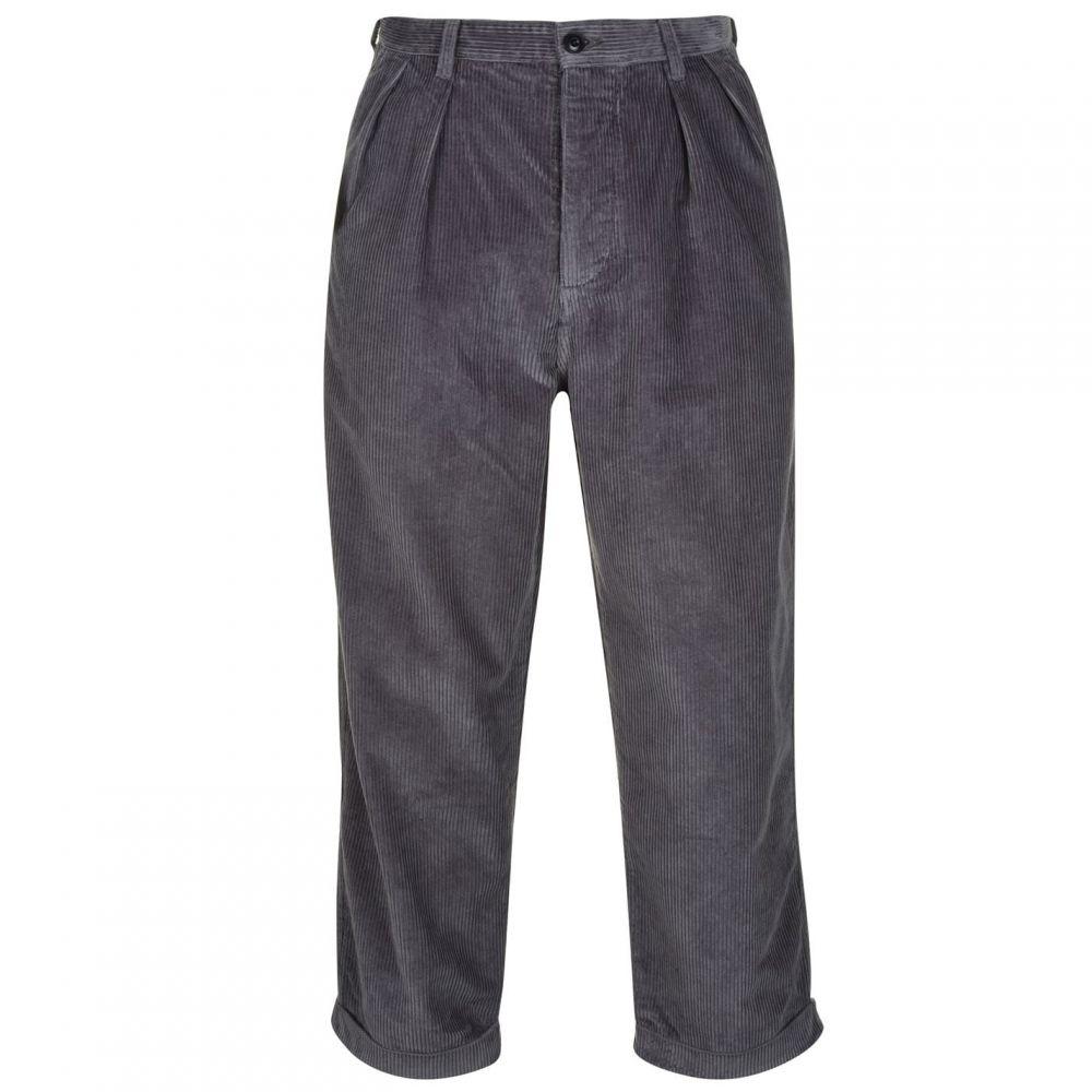アルバム Albam メンズ ボトムス・パンツ 【Cord Trousers】Dark Grey