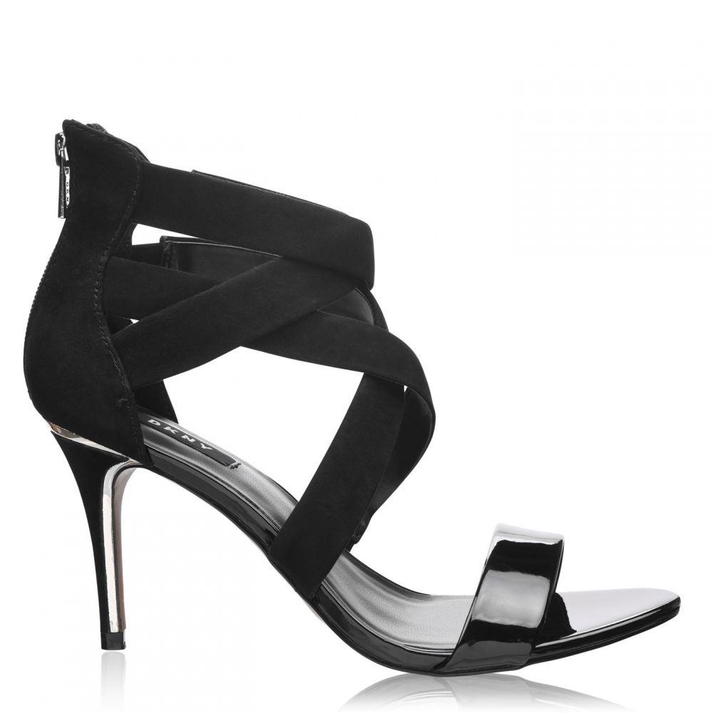 ダナ キャラン ニューヨーク DKNY レディース ヒール シューズ・靴【Iggi Strap Heel】BLK GLD BGD
