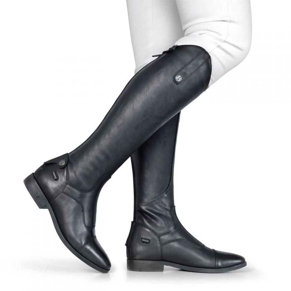 ブロギーニ Brogini レディース ブーツ シューズ・靴【Casperia V2 Long Riding Boots】Black