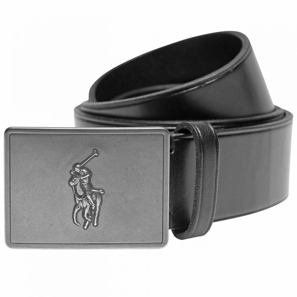ラルフ ローレン Polo Ralph Lauren メンズ ベルト 【Ralph 36mm Plaque Blt Sn4】Black