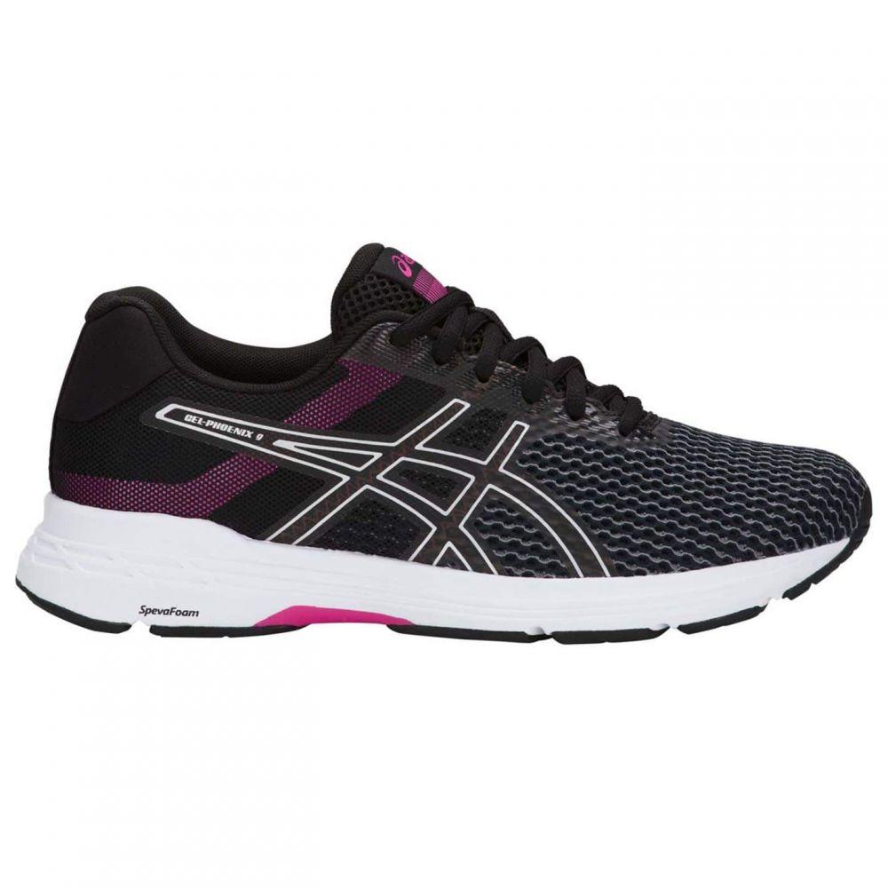 アシックス Asics メンズ ランニング・ウォーキング シューズ・靴【Gel Phoenix 9 Running Shoes】Black/Silver/Fu