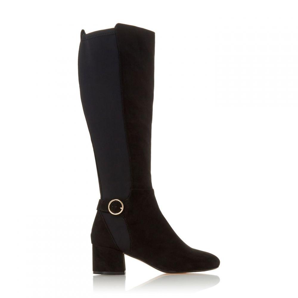 ロベルトビアンニ Roberto Vianni レディース ブーツ シューズ・靴【Solice Black Low Block Heel Boots】Black