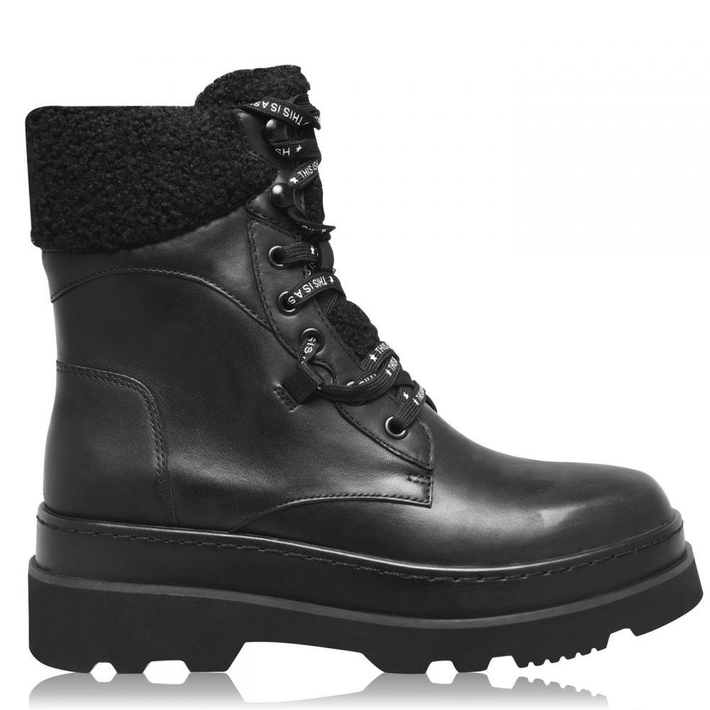 激安な アッシュ ASH レディース ブーツ シューズ・靴【Siberia Military Boots】Black, BRANDSHOPクラージュ 9386a28f