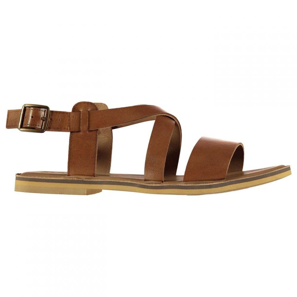 ファイヤートラップ Firetrap レディース サンダル・ミュール シューズ・靴【Petra Leather Sandals】Tan