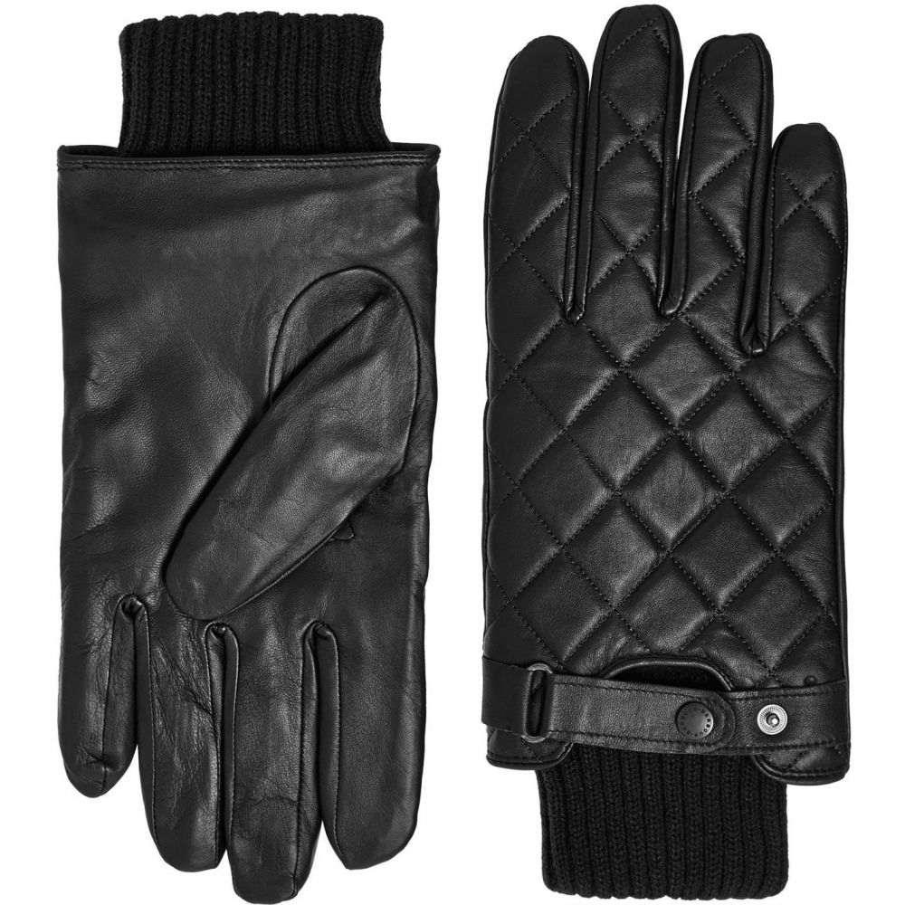 バブアー Barbour Lifestyle メンズ 手袋・グローブ 【Quilted leather gloves】Dark Brown