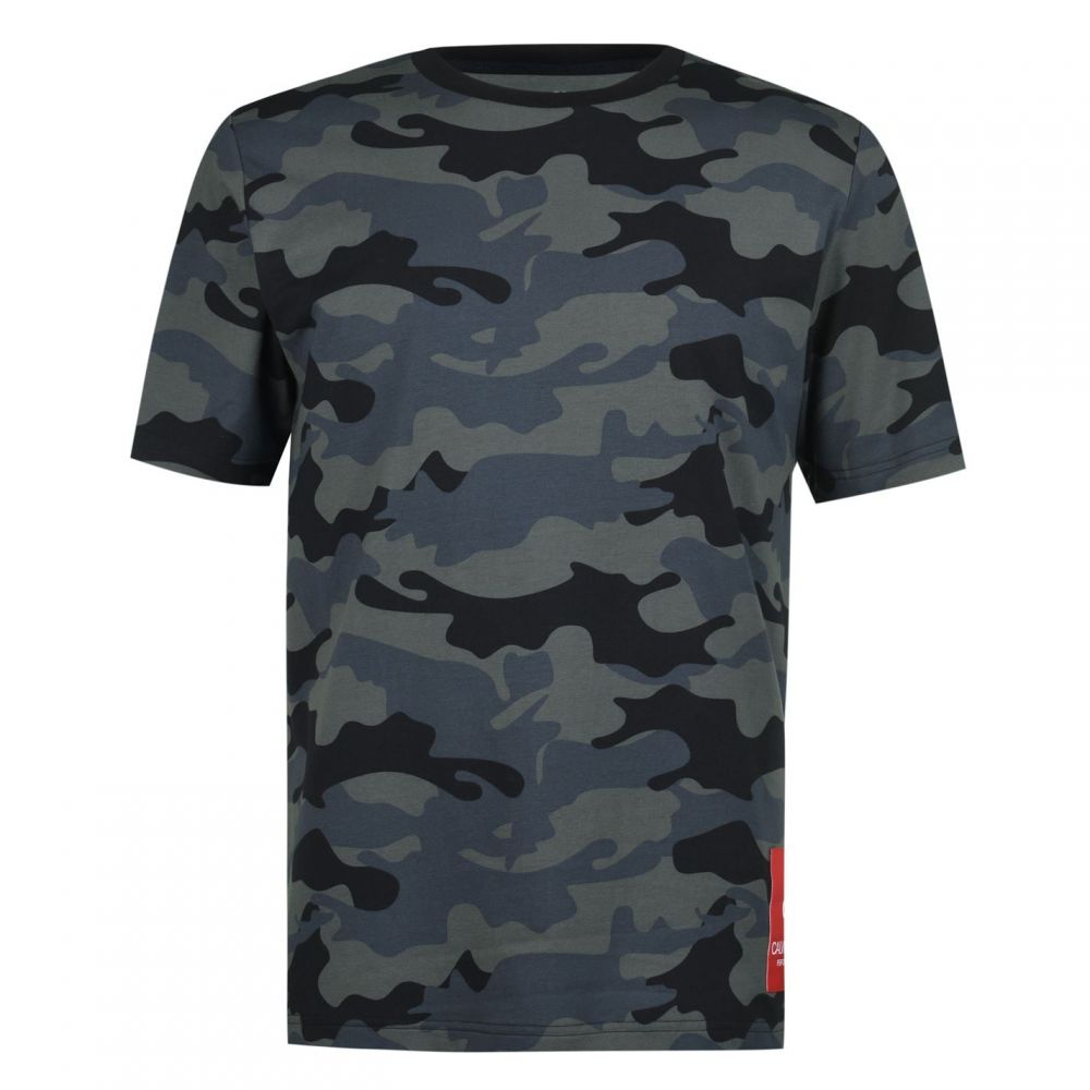 カルバンクライン Calvin Klein Performance メンズ Tシャツ トップス【Camo T-Shirt】Black Camo