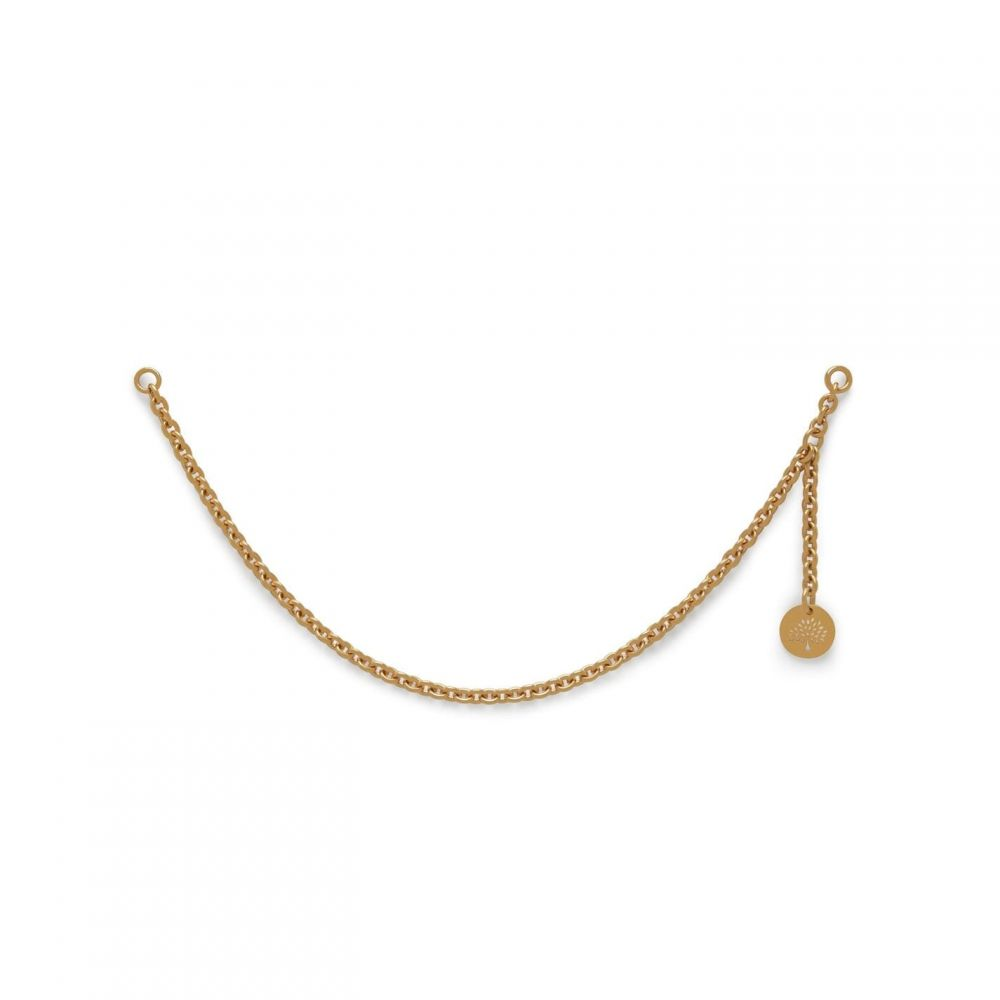 マルベリー Mulberry レディース キーホルダー 【Long Cha for itials Brass】Gold Brass