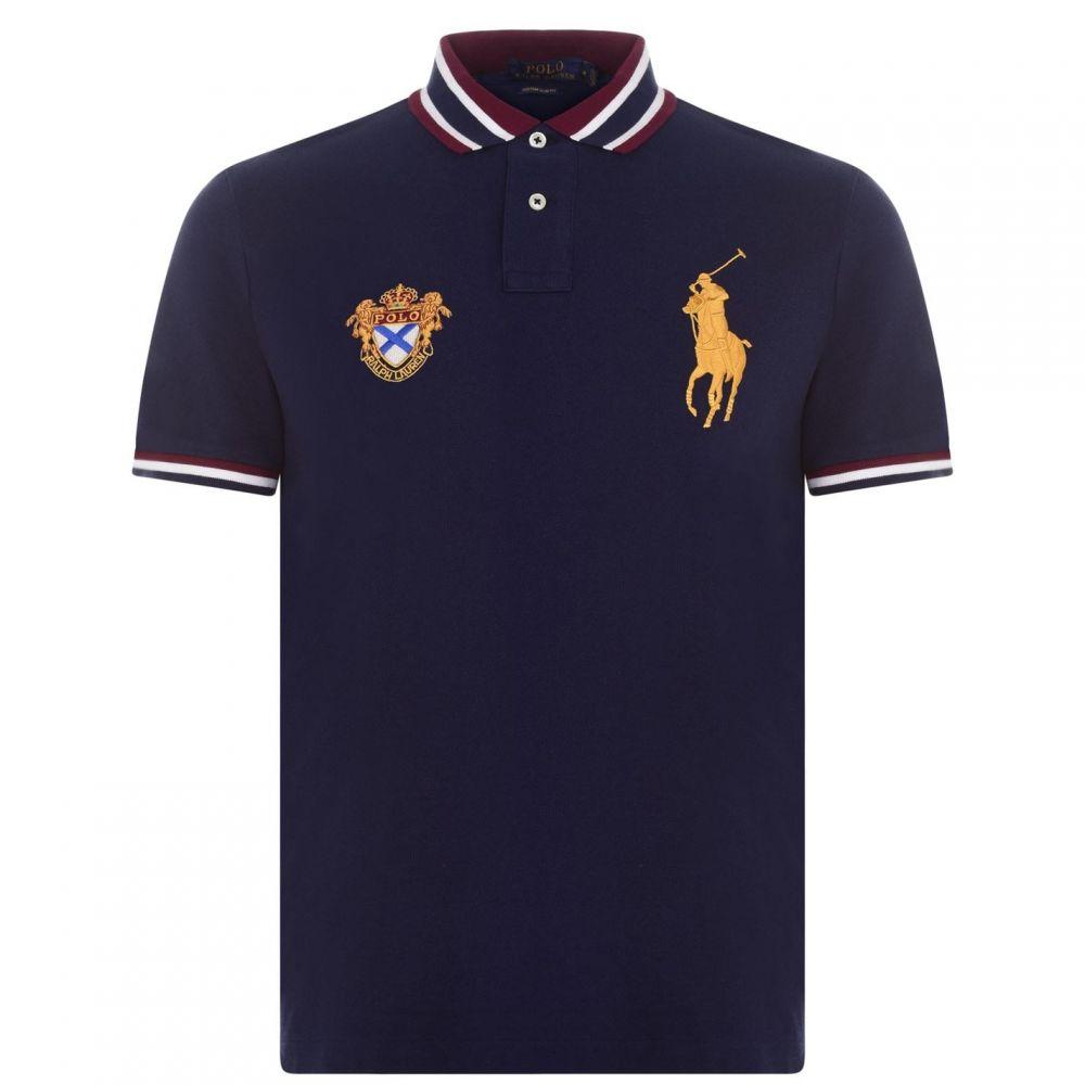 ラルフ ローレン POLO RALPH LAUREN メンズ ポロシャツ トップス【Ralph Lauren Polo】French Navy
