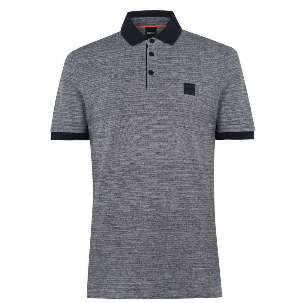 ヒューゴ ボス Boss メンズ ポロシャツ トップス【Pself Polo Shirt】Dark Blue