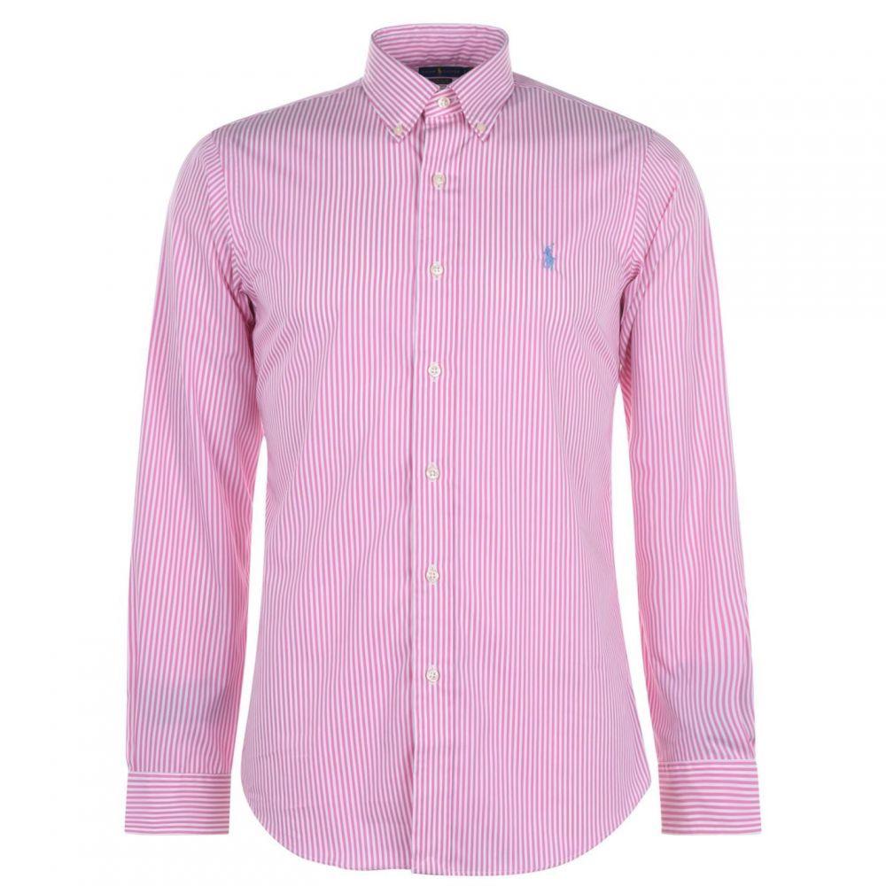 ラルフ ローレン Polo Ralph Lauren メンズ シャツ トップス【Check Custom Shirt】Pink/White
