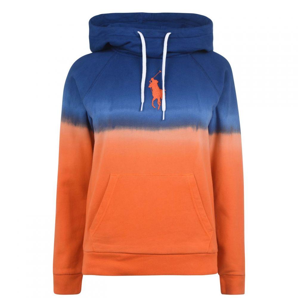 ラルフ ローレン Polo Ralph Lauren レディース ニット・セーター トップス【Polo Ombre Fleece LS】Navy/OrangeOmb