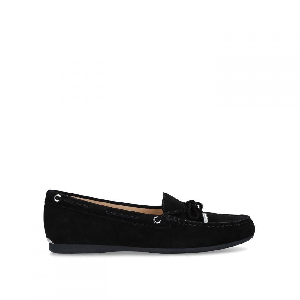 マイケル コース MICHAEL Michael Kors レディース ローファー・オックスフォード シューズ・靴【Sutton Moc Loafers】BLACK