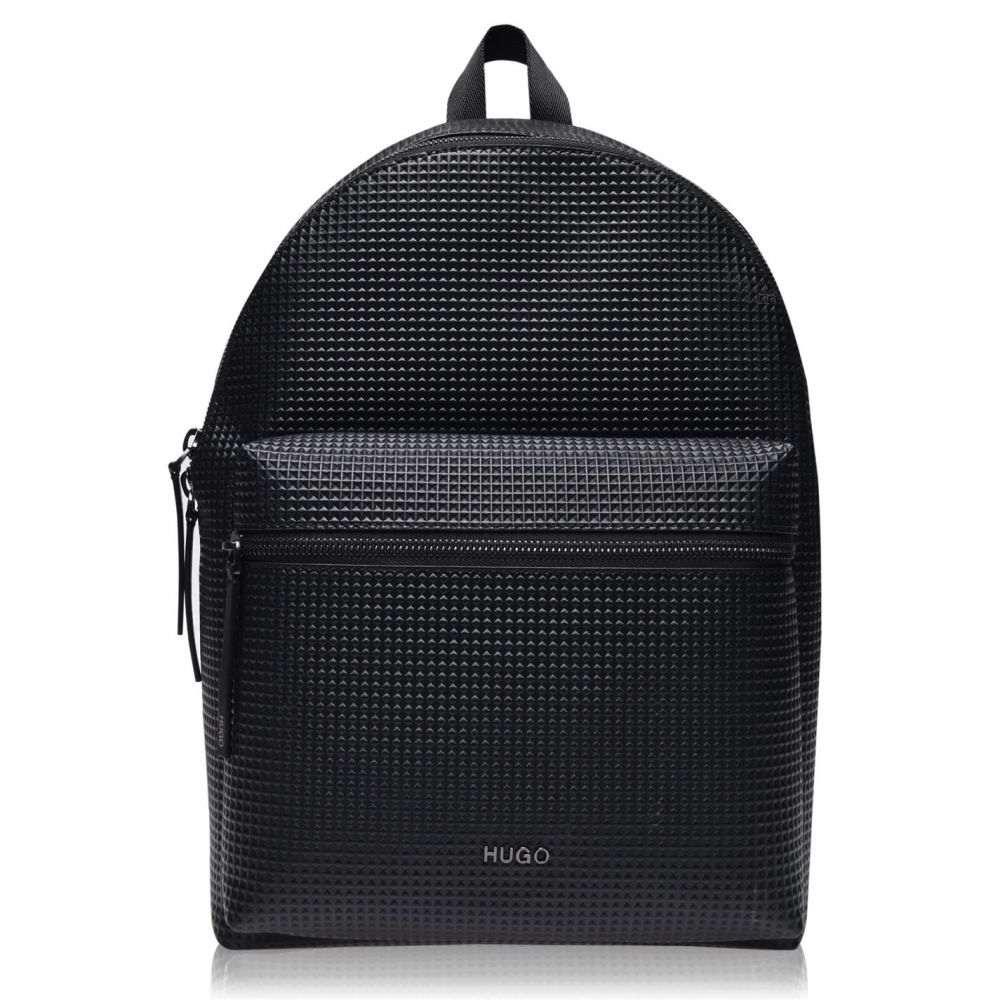 ヒューゴ ボス Hugo メンズ バックパック・リュック バッグ【Rocket PU Backpack】Black