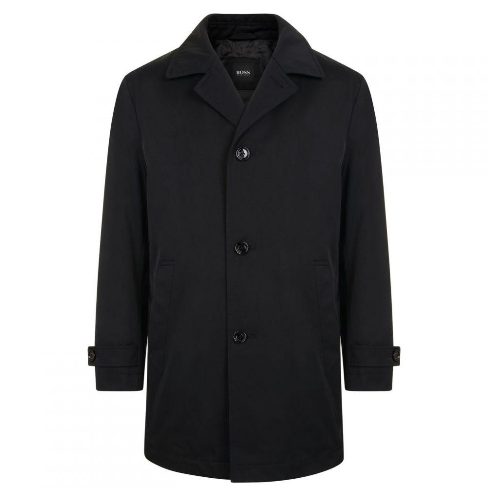 ヒューゴ ボス BOSS メンズ レインコート アウター【Dais Ra Coat】Black
