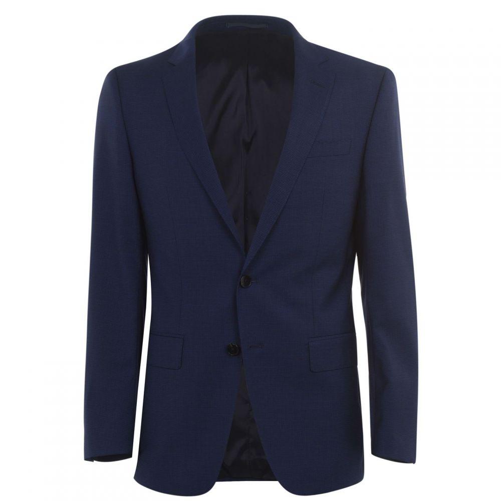 ヒューゴ ボス Boss メンズ スーツ・ジャケット アウター【HBT Huge SB2 Sn02】Blue