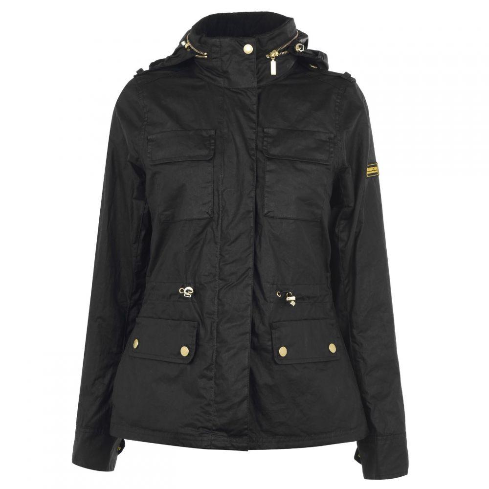 バブアー Barbour International メンズ ジャケット アウター【Barbour Baton Wax Jacket】Black