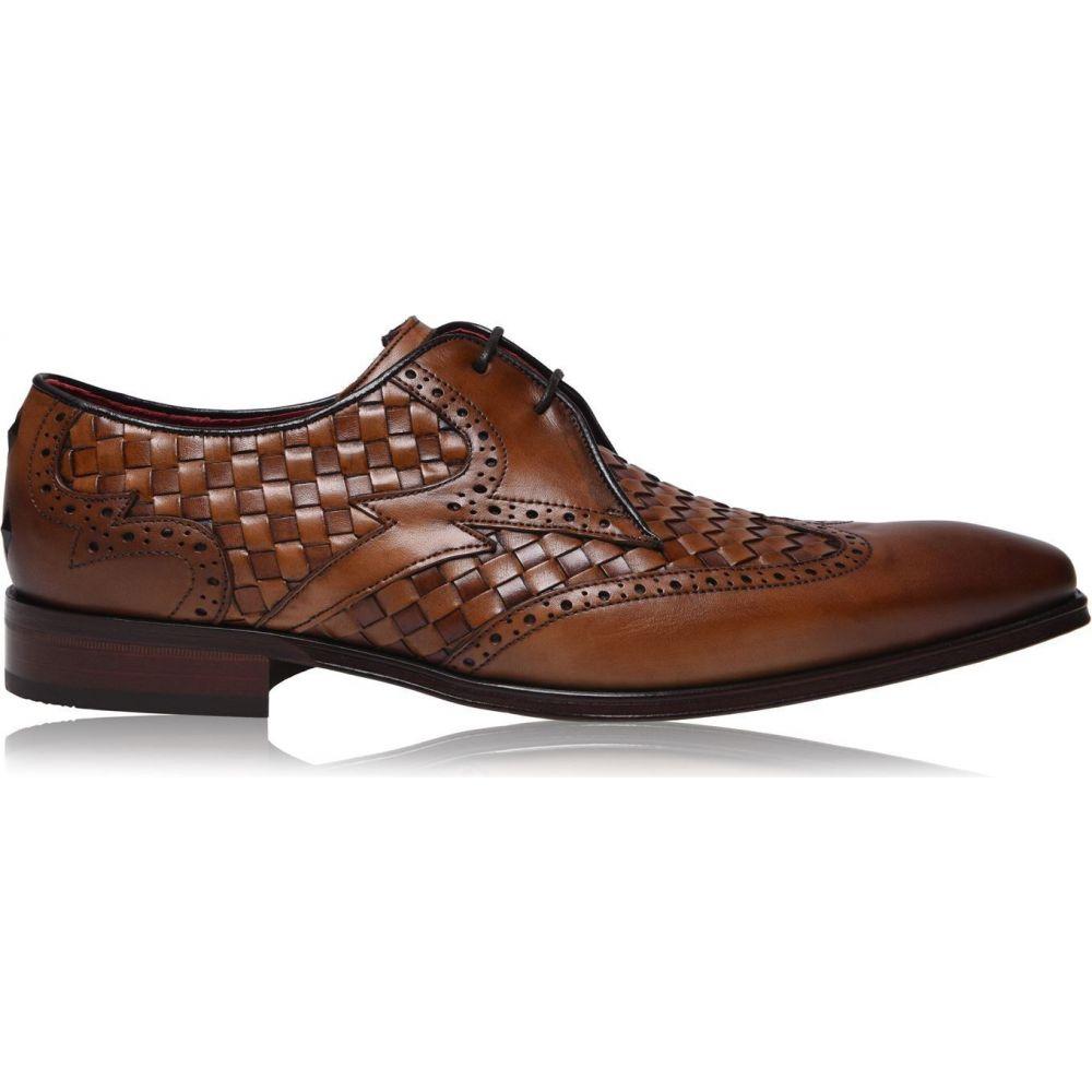 ジェフリー ウエスト JEFFERY WEST メンズ 革靴・ビジネスシューズ シューズ・靴【scarface woven leather shoes】Telado Castano