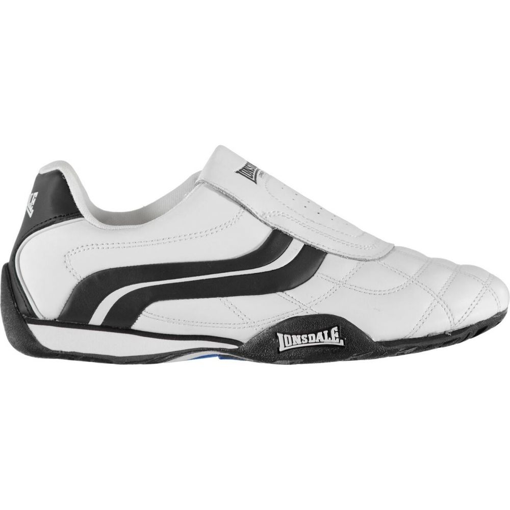 ロンズデール Lonsdale メンズ スリッポン・フラット シューズ・靴【camden slip trainers】White/Navy