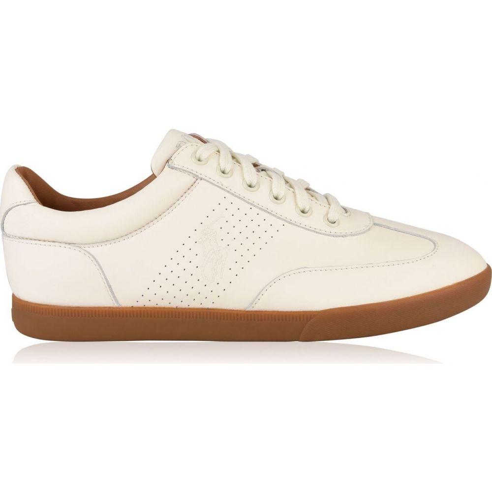 ラルフ ローレン POLO RALPH LAUREN メンズ スニーカー シューズ・靴【cadoc leather trainers】Chalk