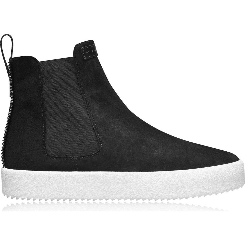 ジュゼッペ ザノッティ GIUSEPPE ZANOTTI メンズ スリッポン・フラット シューズ・靴【gz basic hi slip on】Black