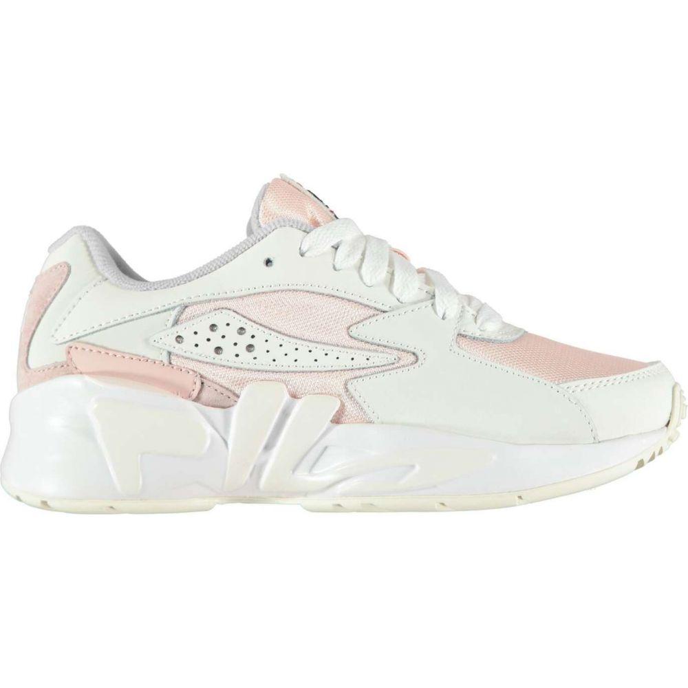 フィラ Fila レディース スニーカー シューズ・靴【mindblender mid trainers】Grey/Pink