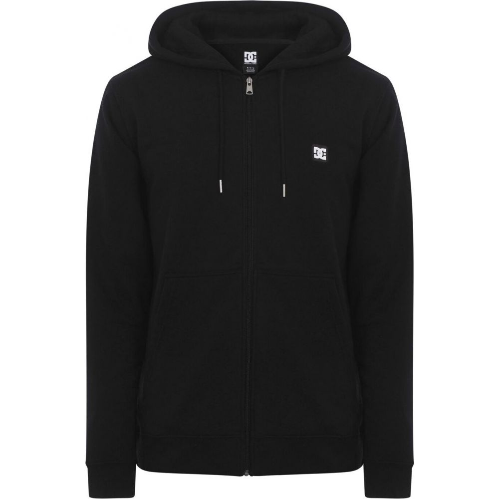 ディーシー DC メンズ パーカー トップス【rebel zip hoodie】Black KVJO