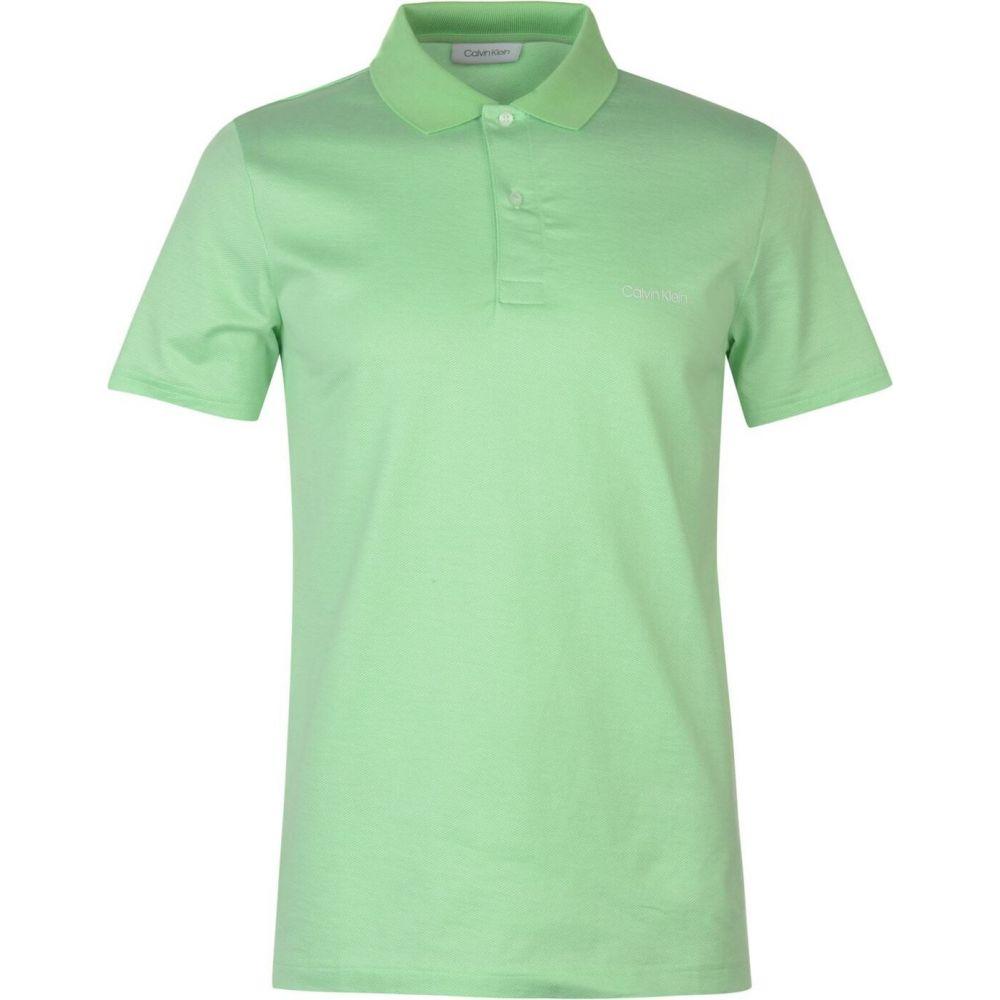 カルバン クライン CALVIN KLEIN MENSWEAR メンズ ポロシャツ トップス【micro jacquard polo】Spring Bouquet
