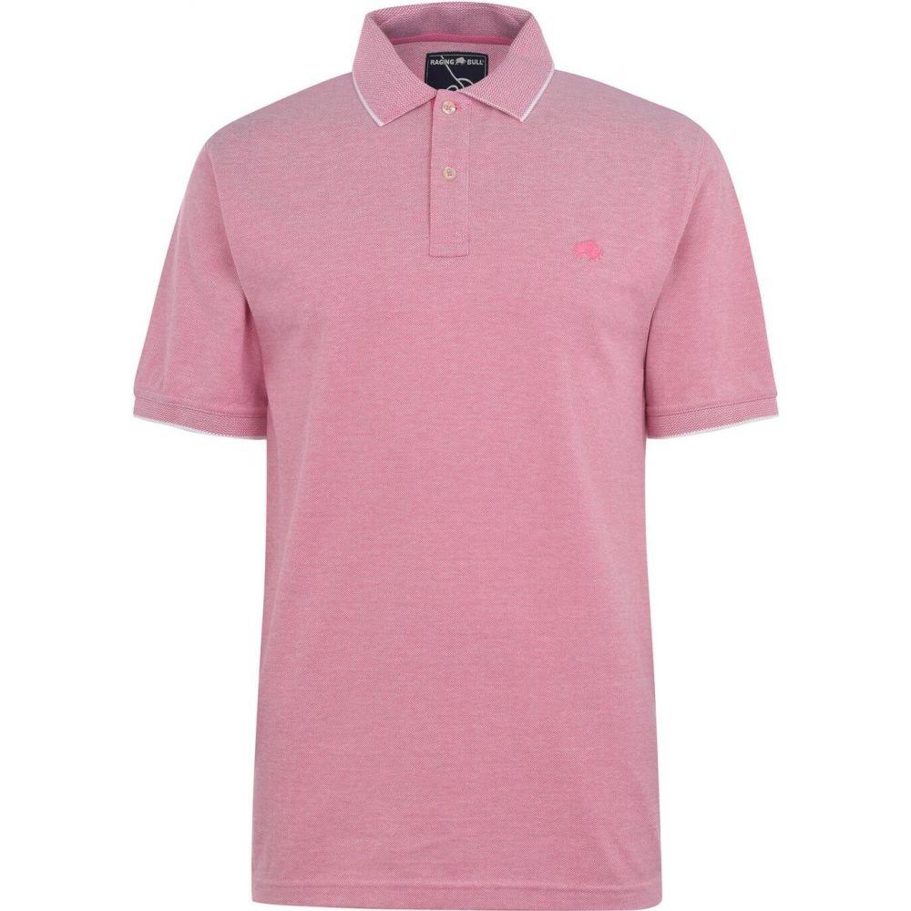 ライジング ブル Raging Bull メンズ ポロシャツ トップス【birdseye polo shirt】Pink