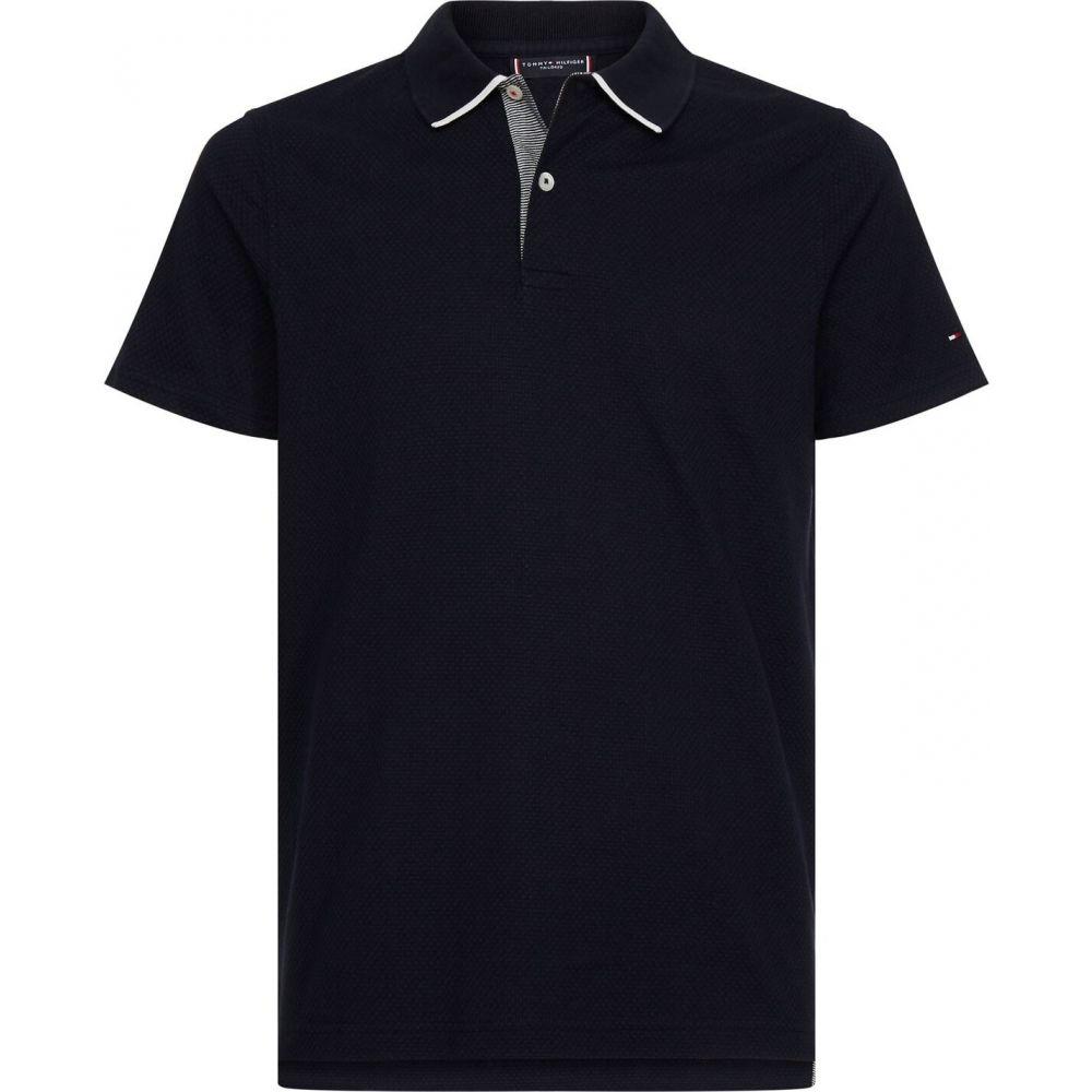 トミー ヒルフィガー Tommy Hilfiger Tailoring メンズ ポロシャツ トップス【tommy bblestch polo】Desert Sky DW