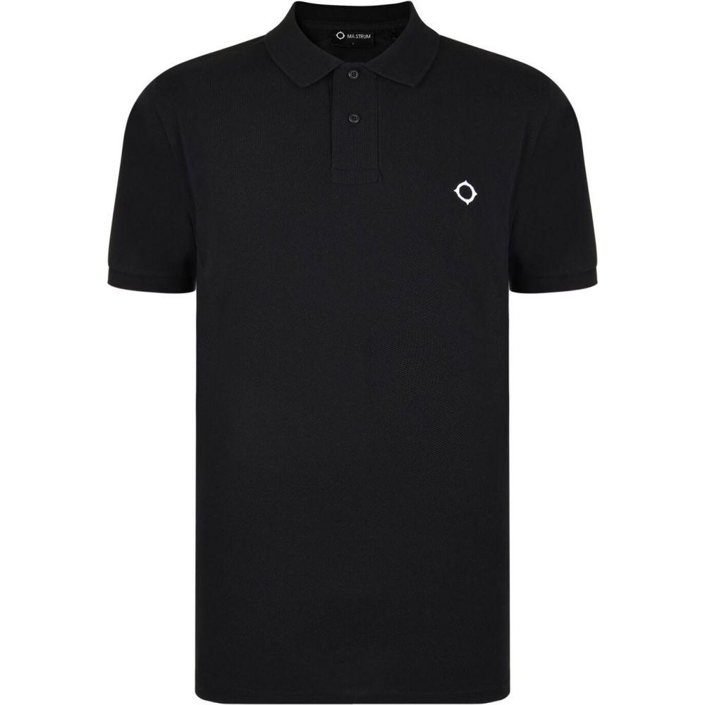マストラム MA STRUM メンズ ポロシャツ トップス【icon icon polo shirt】Jet Black M