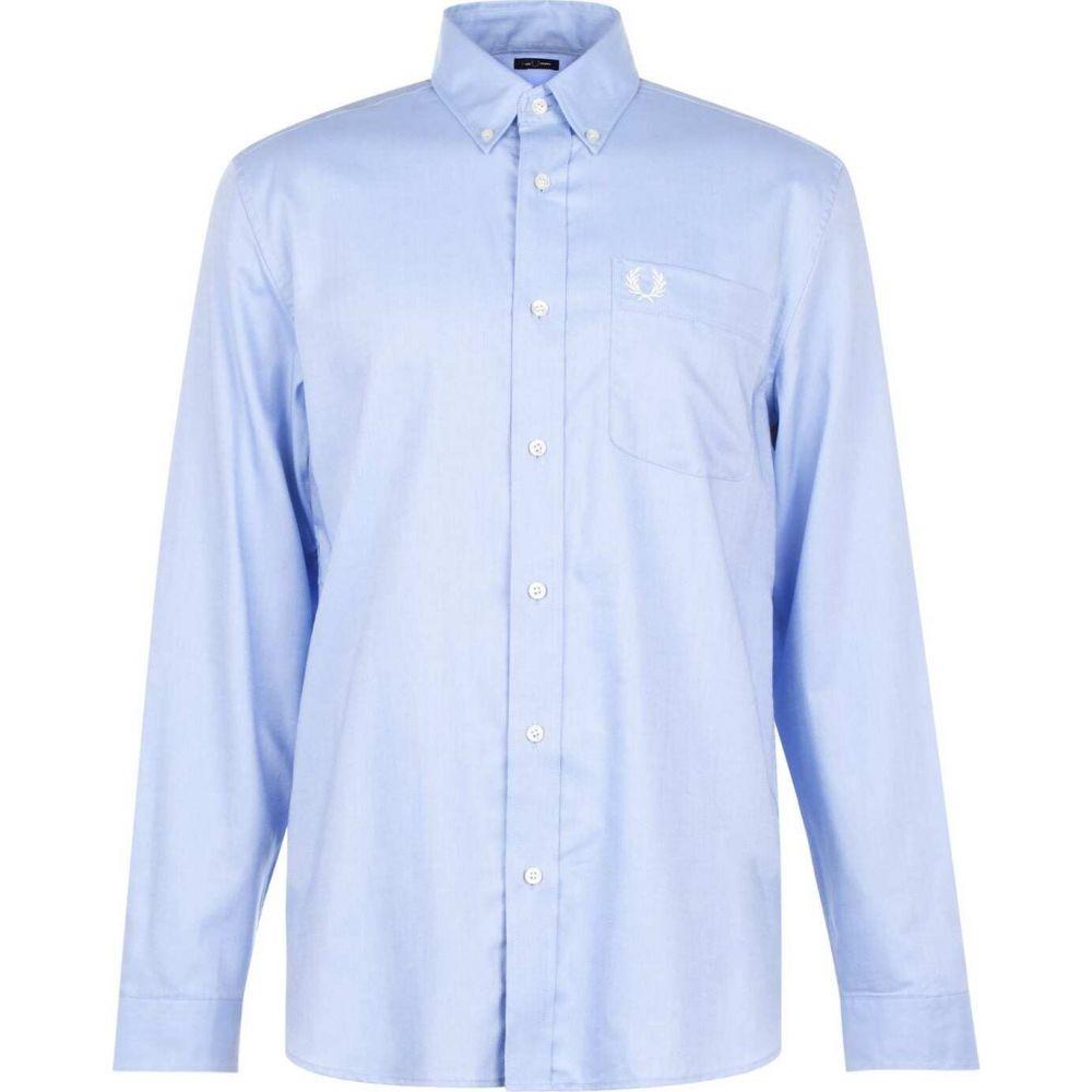 フレッドペリー Fred Perry メンズ シャツ トップス【oxford shirt】Light Smoke