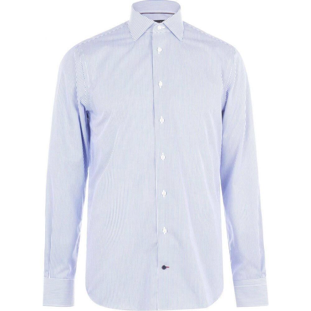 トミー ヒルフィガー Tommy Hilfiger Tailoring メンズ シャツ トップス【classic stripe shirt】Limoges A