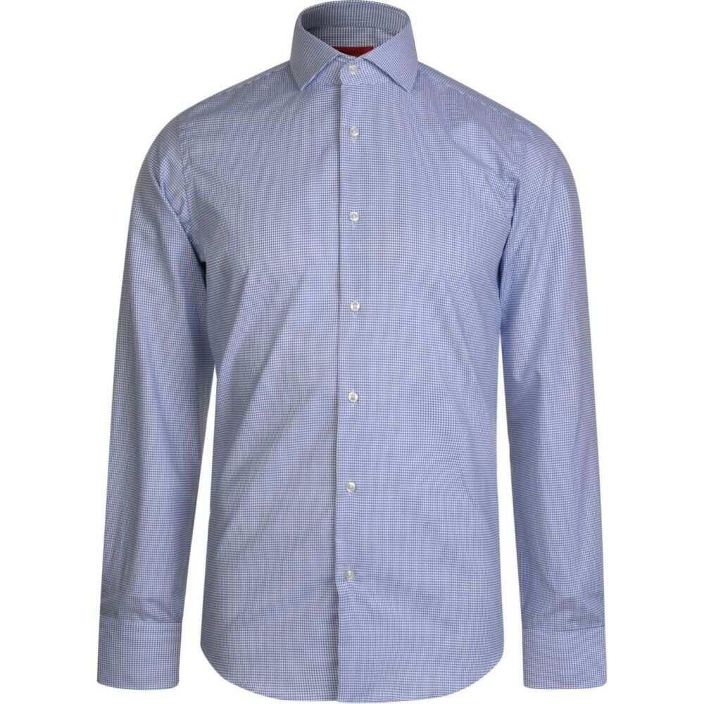ヒューゴ ボス Hugo メンズ シャツ トップス【cross print shirt】Blue