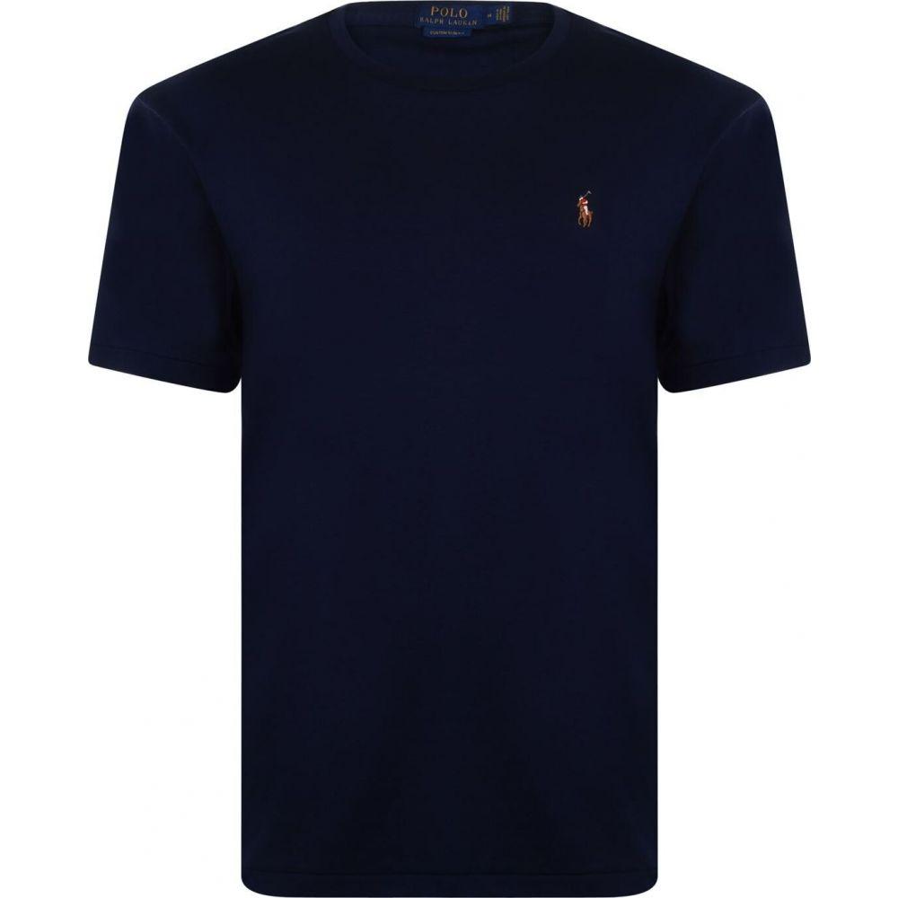 ラルフ ローレン Polo Ralph Lauren メンズ Tシャツ トップス【pima polo t shirt】French Navy