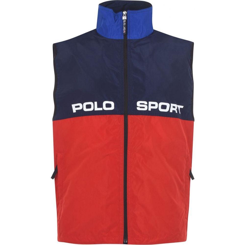 ラルフ ローレン POLO RALPH LAUREN メンズ ベスト・ジレ トップス【silver collection sport gilet】Silv/Blue/Red
