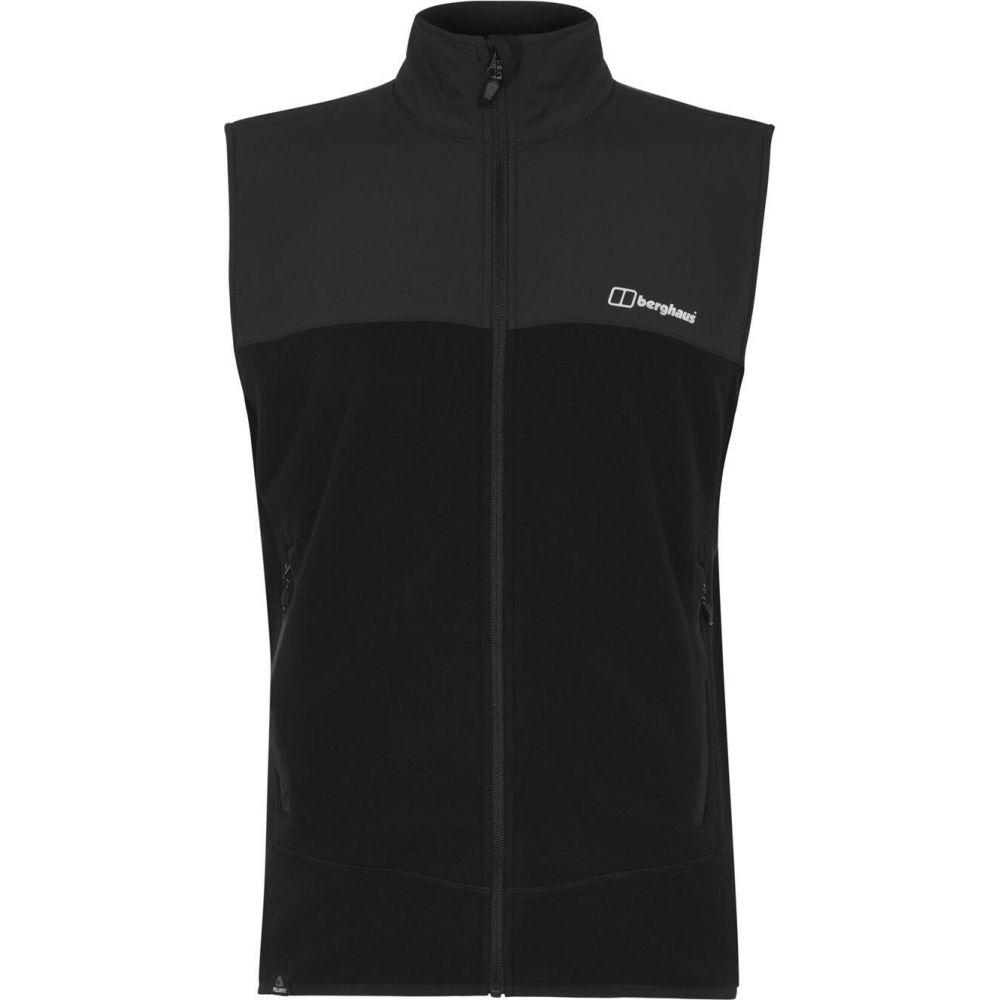 バーグハウス Berghaus メンズ ベスト・ジレ トップス【berg kyberg vest】Jet Black