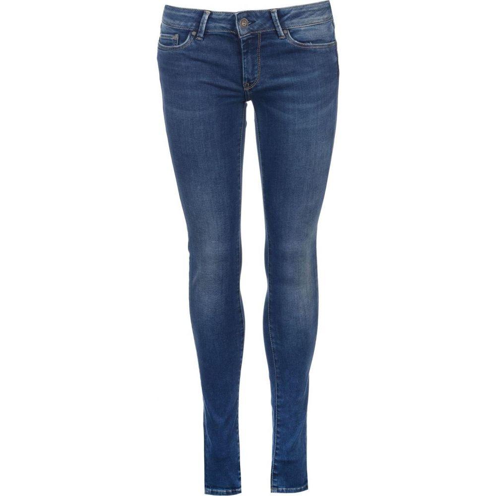 ペペジーンズ Pepe Jeans レディース ジーンズ・デニム ボトムス・パンツ【pixie mid skinny jeans】Washed Blue