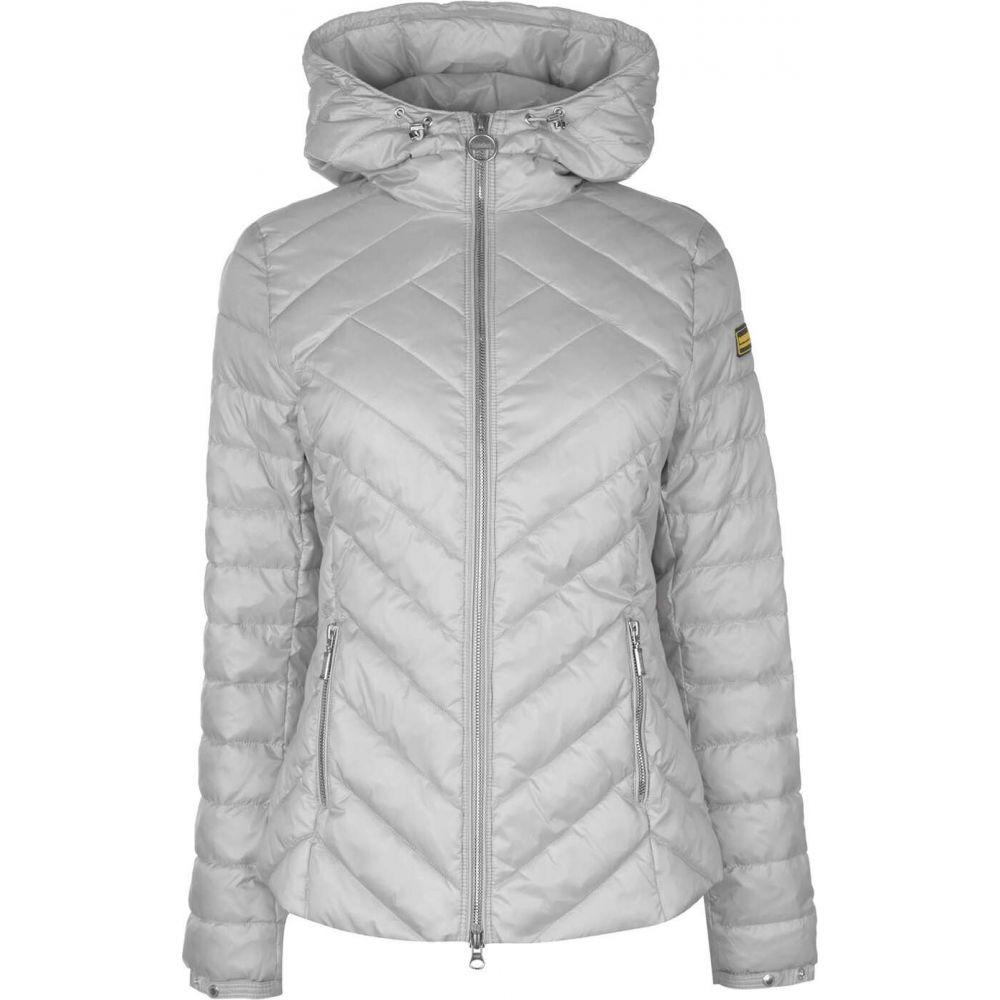 バブアー Barbour International レディース ジャケット アウター【barbour durant quilted jacket】Ice White