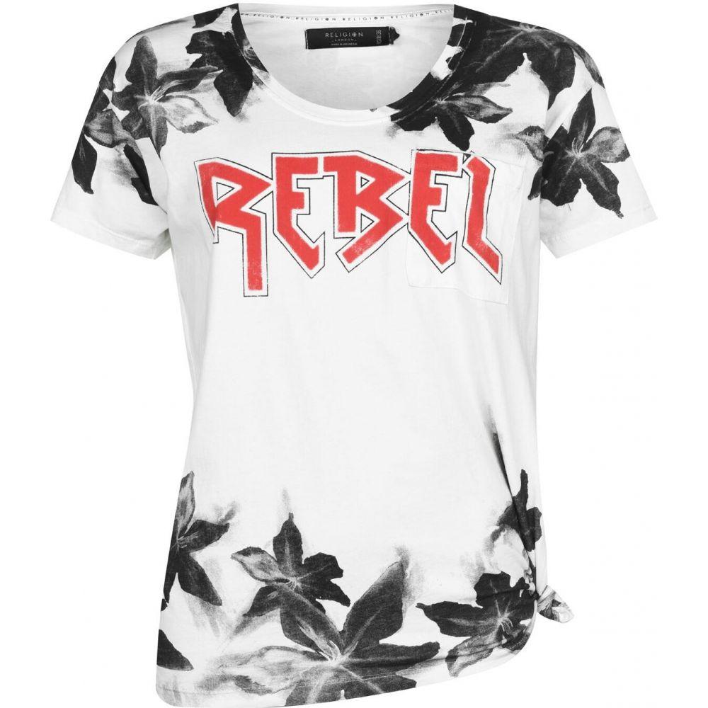 レリジョン Religion レディース Tシャツ トップス【rebel t-shirt】Rebel Tee