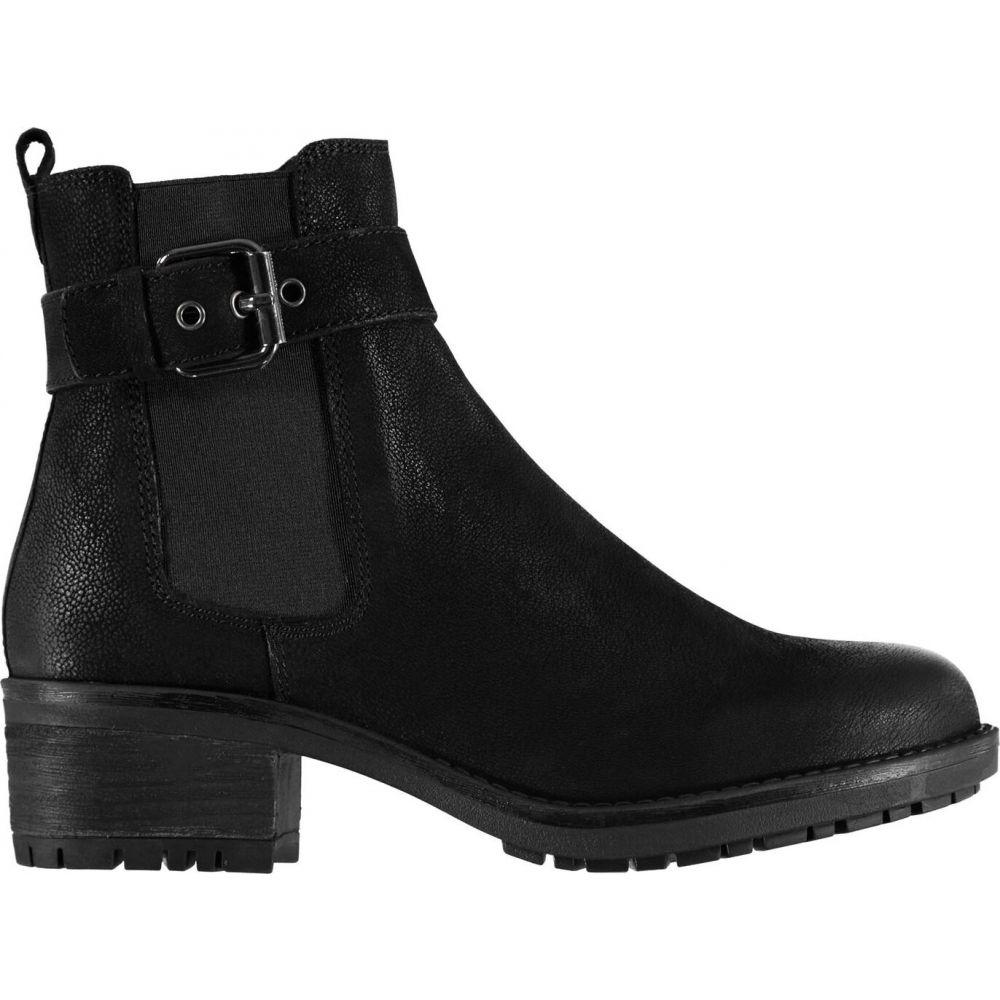 リネアペレ Linea レディース ブーツ シューズ・靴【rugbkle bt】Black