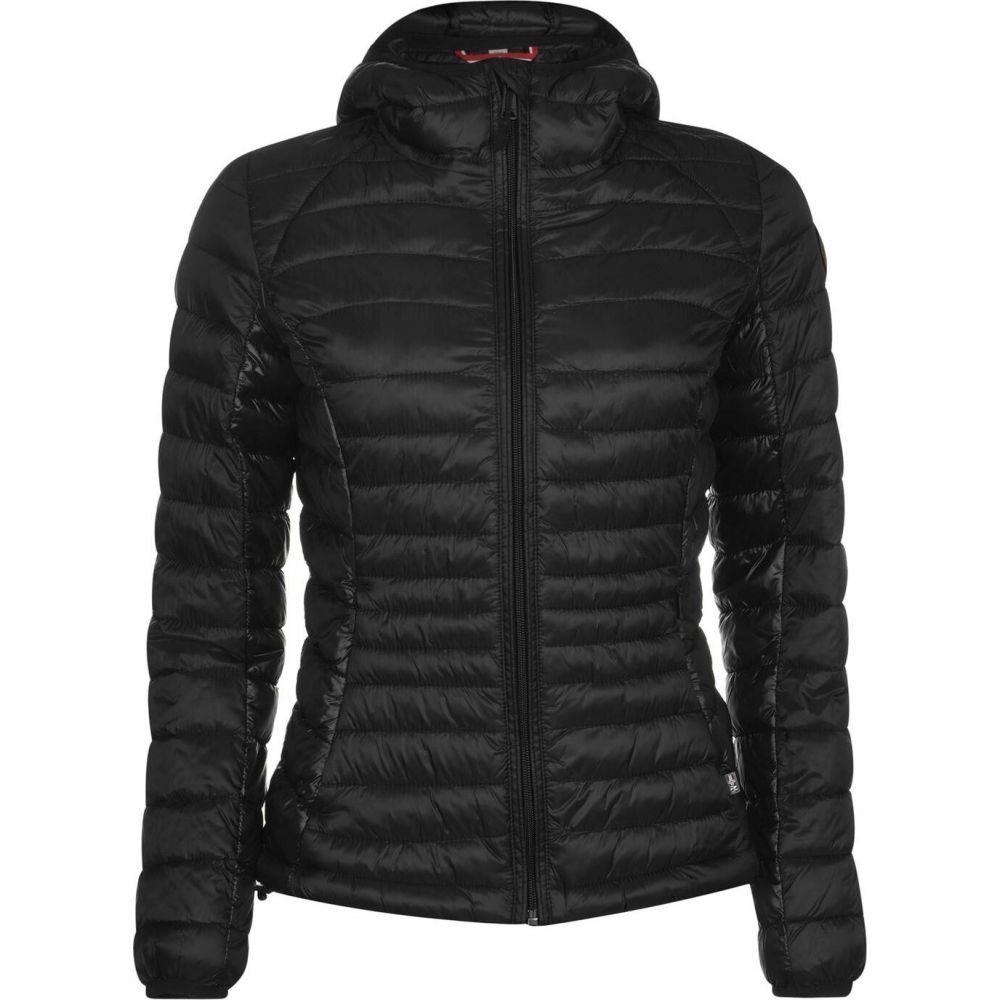 ナパピリ Napapijri レディース ジャケット フード アウター【aerons hooded jacket】Black